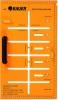 Meisterschablone MS-2001 (Kreide/Bleistift)